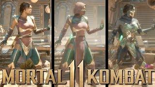 MORTAL KOMBAT 11 - JADE GAMEPLAY + LOADOUTS with NO MASK!!