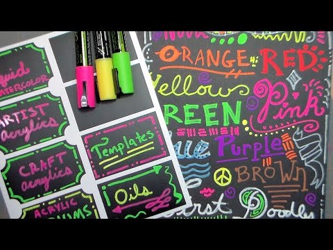 crafty-croc-chalk-markers-demo-and-review
