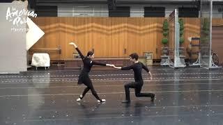 劇団四季:パリのアメリカ人:稽古場取材会の様子
