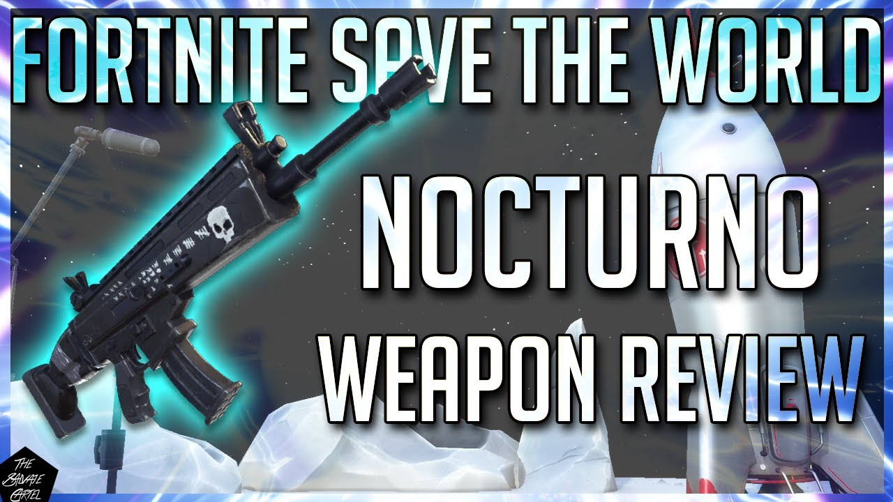 Fortnite Weapon Review Fortnite Stw Nocturno In Depth Weapon Review Youtube