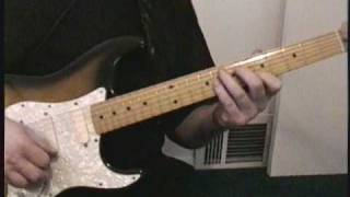 Quik Lik Guitar Lesson 1 - Box Pattern Amajor Blues - with Larry McHugh