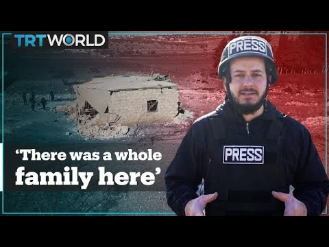 TRT World visits a family's house wrecked by an air strike