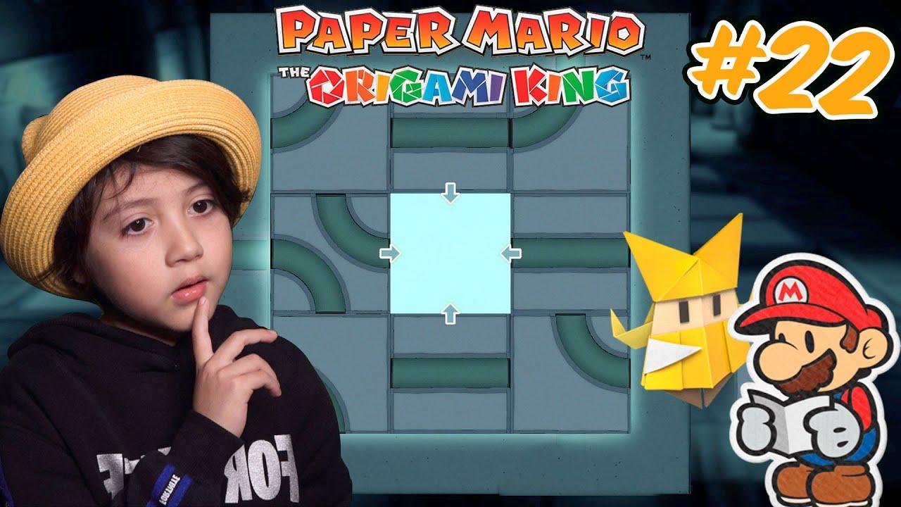 Parte 22 Este es el PUZZLE MAS DIFICIL / PAPER MARIO The Origami King / Diki Duki Dariel