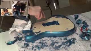 Refinishing my Stratocaster