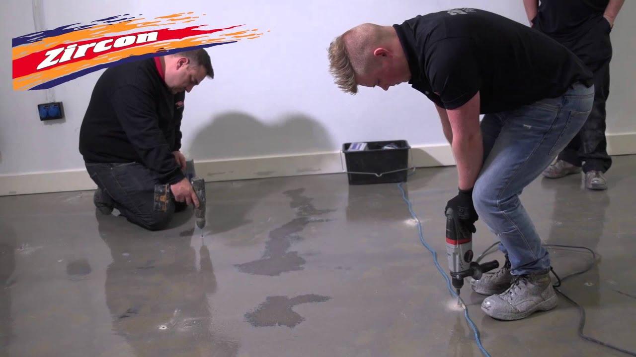 Zircon Flooring The Uk S Leading Resin Flooring Installers Youtube