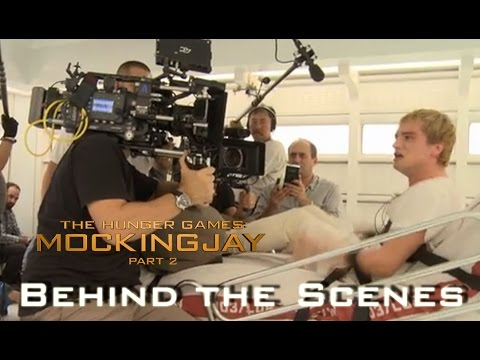 Mockingjay Part 2 - Behind The Scenes - Performances of Josh in Peeta