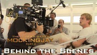 Mockingjay Part 2 - Behind The Scenes - Performances of Josh in Peeta