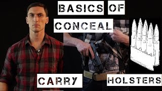 Basics of Conceal Carry holsters / IWB vs OWB