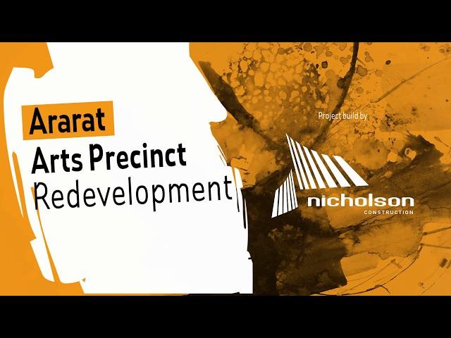 Ararat Arts Precinct Redevelopment Update 09 - COMPLETE