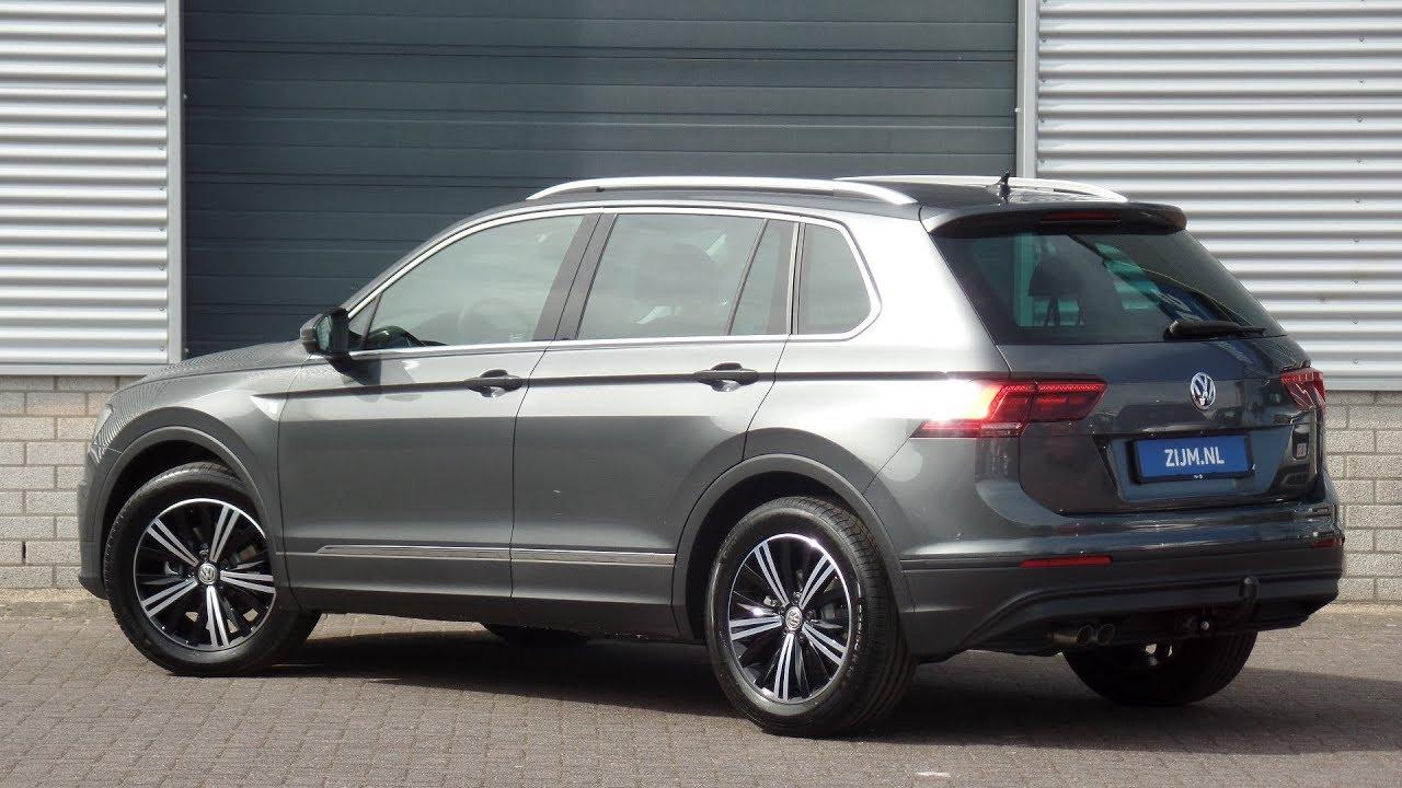 Volkswagen New 2018 Tiguan Comfortline Indium Grey 18 Inch Nizza