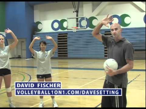 Volleyball Setting Technique - YouTube