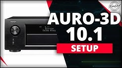 How to Setup Auro-3D 10.1 on the Denon AVR-X4400H
