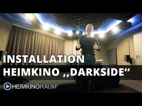 Heimkino ''DARKSIDE'' – Made by HEIMKINORAUM Mannheim