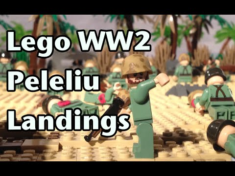 Lego WW2 Animation TEST - YouTube