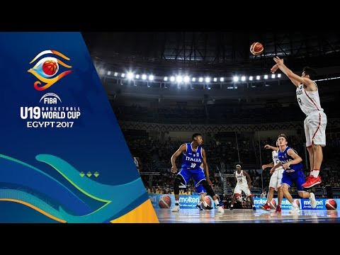 Canada v Italy  Full Game  Final  FIBA U19 Basketball World Cup 2017