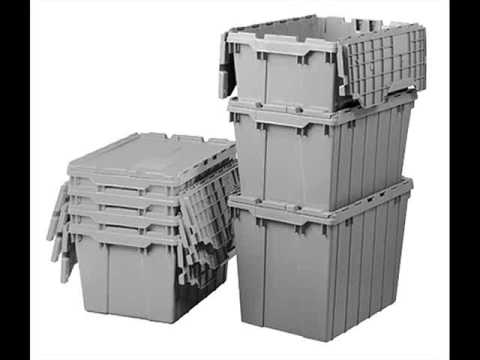Plastic Storage Totes | Plastic Storage Containers Collection   YouTube
