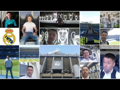 Stadium Tour Santiago Bernabeu&Real Madrid