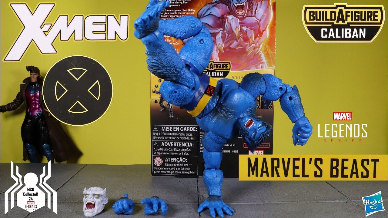 BEAST X-Men Marvel Legends 2019 Caliban wave BAF head Hank McCoy Jim Lee NEW