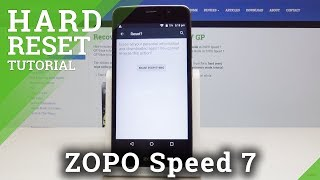 How to Hard Reset ZOPO Speed 7 - Erase All Data & Content