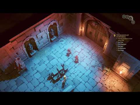 The Dungeon of Naheulbeuk Gameplay |