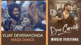 Canteen Song Vijay Devarakonda MASS Dance Performance Dear Comrade Music Festival