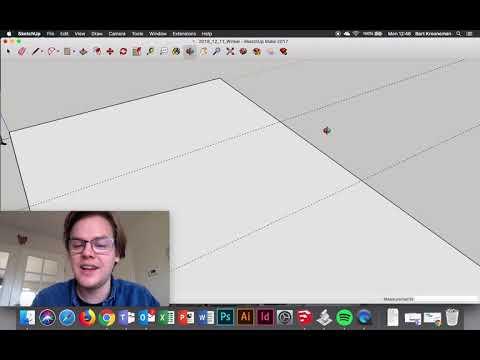 SketchUp 2 - 2: Tekenen, Groeperen, Componenten