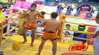 Dum Keoda (Cambodai) Vs (Thai)Phaya Lek, SeaTV Boxing, 27/May/2018 | Khmer Boxing Highlights
