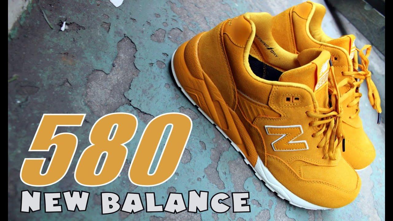 new balance 580 history