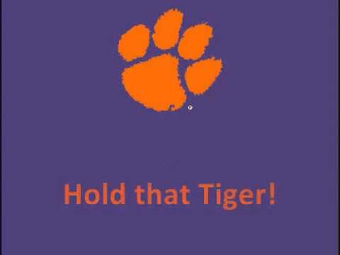 "Clemson's ""Tiger Rag"""