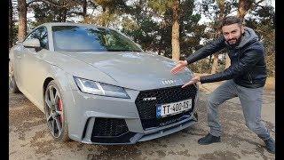 უხეში ტესტ დრაივი – AUDI TT RS – ჯიბის რაკეტა 50 000$-ად! Rough Test Drive