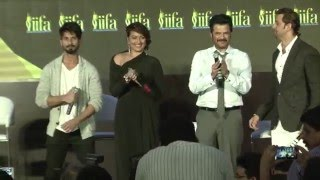 16th iifa awards 2015 red carpet full show   salman shahrukh aamir hrithik shahid