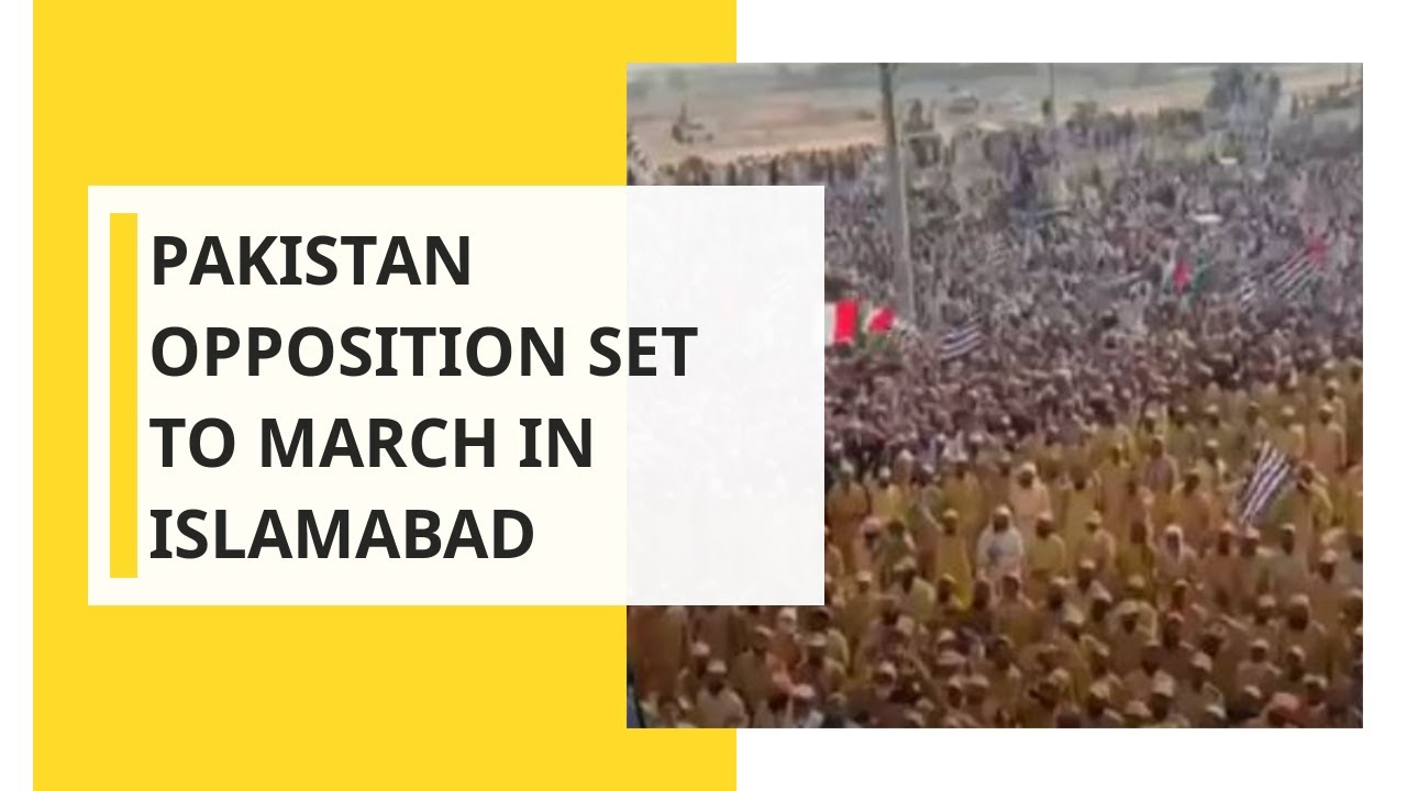 WION Dispatch: Pakistan opposition set to march in Islamabad