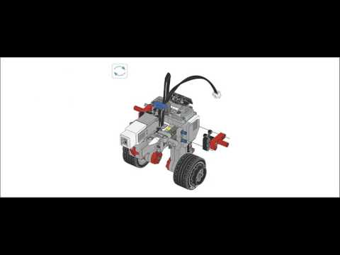 Lego Mindstorms Ev3 Education 45544 Instructions Gyro Boy Youtube