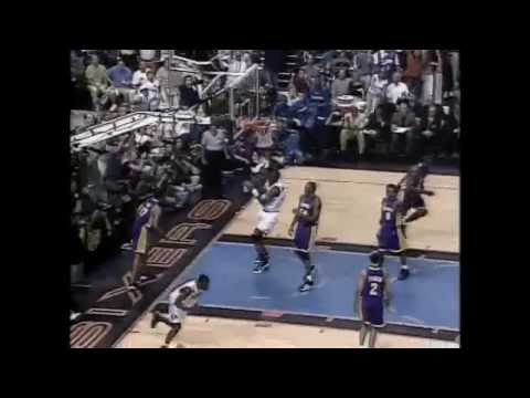 2001 NBA Finals - Los Angeles vs Philadelphia - Game 5 Best Plays