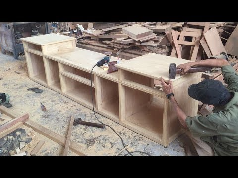 Ingenious Furniture Ideas & Awesome Techniques Of Carpenter // Amazing Woodworking Project