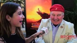Ernie Sabella, Voice of Pumbaa at Premiere of Disney