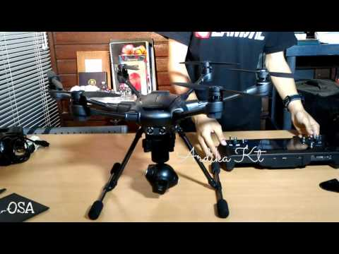 Yuneec Typhoone H First Unboxing In Bali Indonesia
