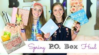 Spring PO Box Haul | Brooklyn and Bailey