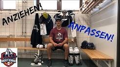 Eishockey Ausrüstung Anziehen und Anpassen