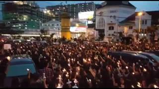 MERINDING - INI MEDAN BUNG - Aksi 1000 Lilin Dari Kota Medan