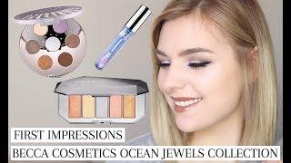 becca ocean jewels lidschatten palette