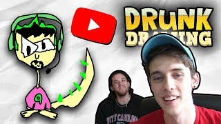 DRUNK DRAWING YOUTUBERS