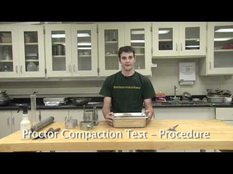 Proctor Compaction Test