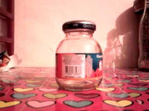 Como Decorar Una Botella De Vidrio Para Un Bautizo
