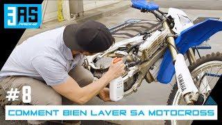 Comment VRAIMENT bien laver sa motocross - Tuto Moto #8