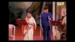 Humko Humise Chura Lo | Lata Mangeshkar Udit Narayan Live Hydrebad Concert | Mohabbatein