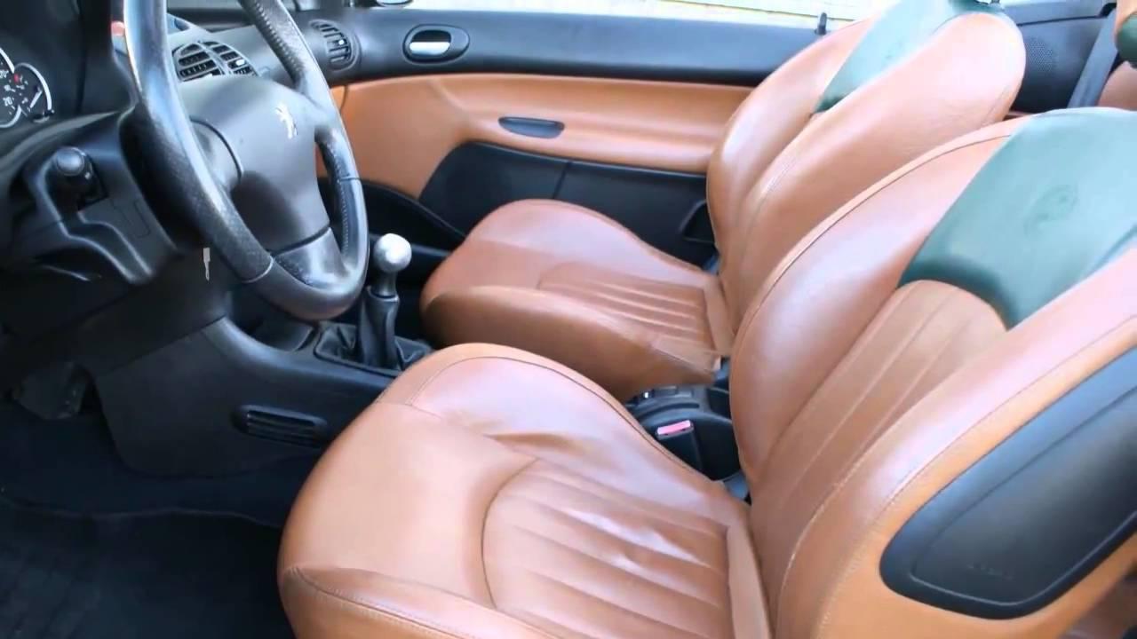 Peugeot 206 CC 1.6 16v Roland Garros - YouTube