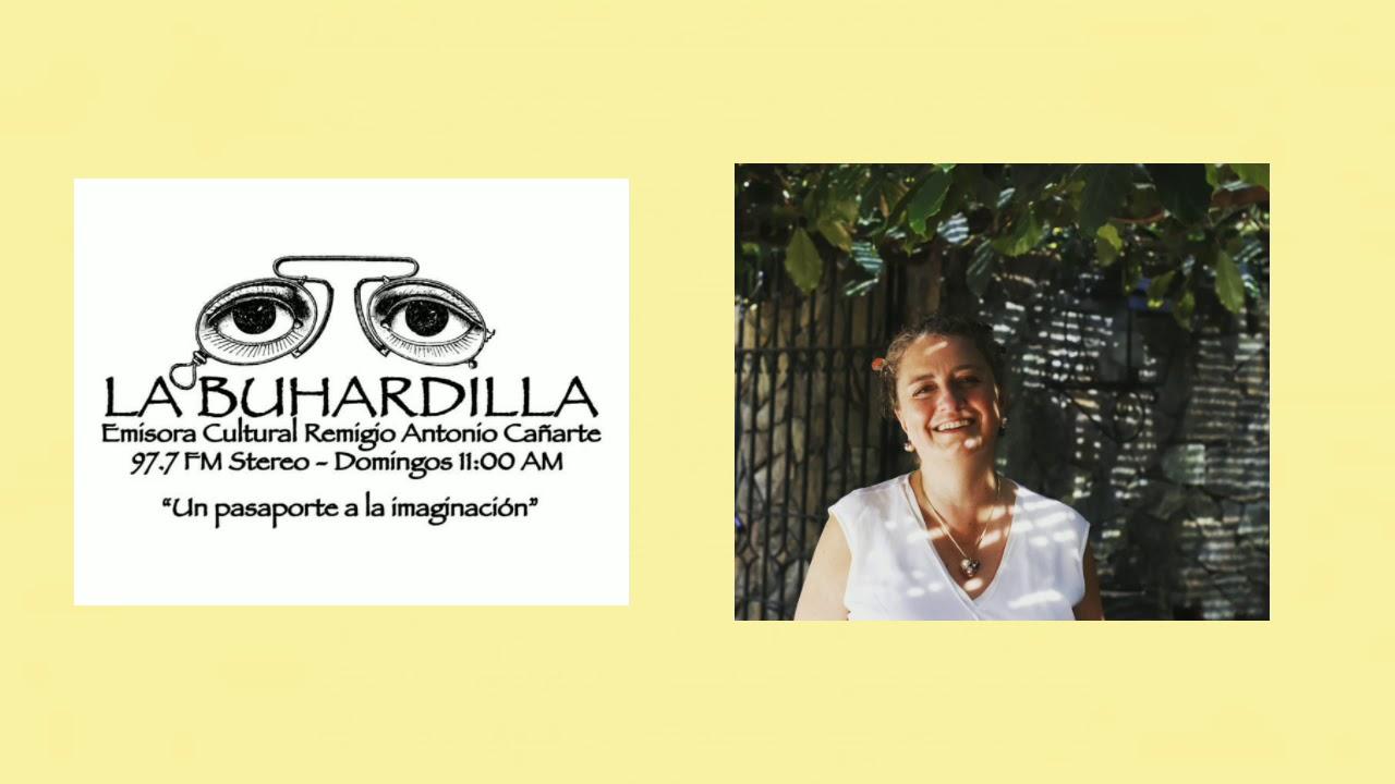 Entrevista radial La Buhardilla