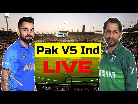 🔴 [LIVE] Pakistan Vs India Match Live Commentary || ICC World Cup 2019 Live Scorecard