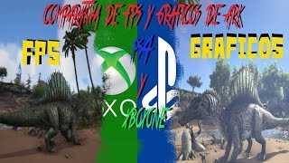 grficos y fps del mapa the isle de ark survival evolved en ps4 y xbox one